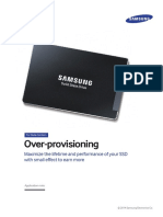 Samsung SSD 845DC 04 Over-provisioning