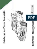 PR Renault Maxi 5 Turbo