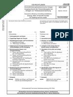 [VDI 2067 Blatt 22-2005-02] -- Wirtschaftlichkeit Gebäudetechnischer Anlagen - Energieaufwand Der Nutzenübergabe Bei Anlagen Zur Trinkwassererwärmung