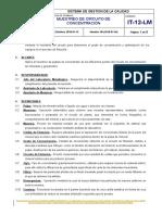 Copia de Copia de IT-12-LM  Muestreo del circuito de concentración xrev.doc
