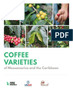 Coffee Varieties of Mesoamerica and the Caribbean 20160609