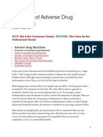 Overview of Adverse Drug Reactions