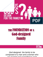 GODS DESIGN for Families (Facilitators Ppt)