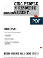 Managing People Chapter 1