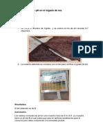 Determinación de PH en El Hígado de Res