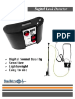 Flowmetrix Digital Leak Detector