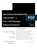 Organisational Behavior l Employee Retention