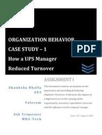 Organisational Behavior l Employee Retention