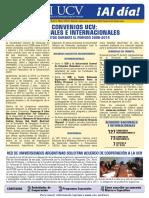 Boletin_dicori_2014 - Convenio Nacionales e Internacionales - Ucv (Universidad Central de Venezuela)