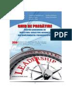 Ghid de Pregatire Pentru Directori