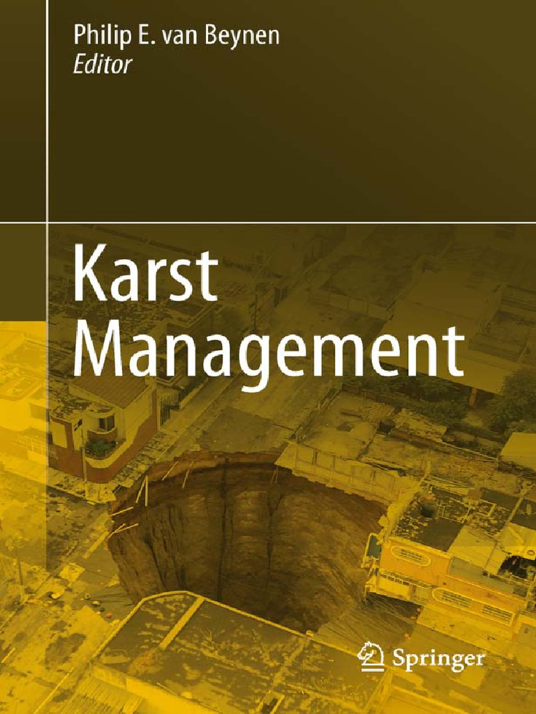 Karst Management | Sinkhole | Earth Sciences