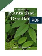 Chapter 5 Plants That Dye Hair