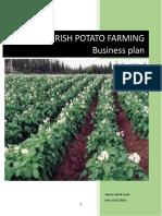Business Plan for Potato Farming