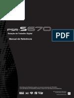 YAMAHA PSR S-670 Manual de Referência