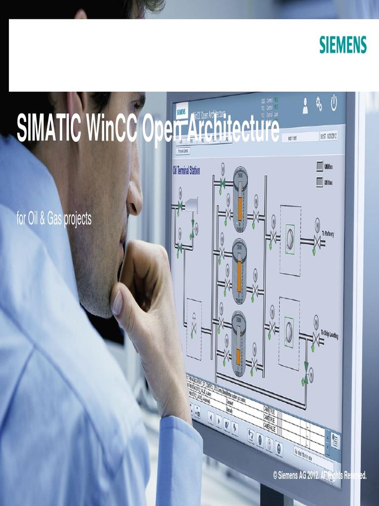 Wincc Oa for Oil Gas En | Scada | Natural Gas