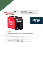 Maquina de Soldar - Ce - Electrex e 160 n943116