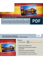 Wincc Oa User Days 2015 Customizing Wincc Oa