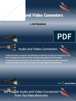 Audio and Video Connectors Supplier - Just Connectors