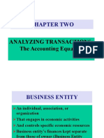 Ch2- Transaction Analysis
