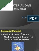 3. Material Dan Mineral