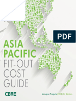 2016 APAC Fit-out Cost Guide - Occupier Projects