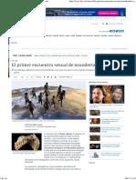 El Primer Encuentro Sexual de Neandertales y Sapiens