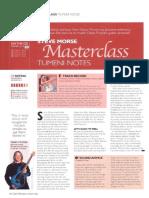 [GUITAR] Steve Morse Masterclass - Tumeni Notes