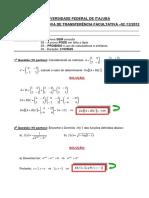 ProvaGabaritoMatematicaQuimica 2