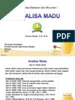 Analisa Madu