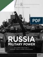 DIA RussiaMilitaryPower2017