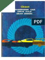 Passenger Car Drive Axle Gear Design