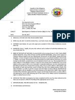 Spot Report, Bio Profile, Cert. of Detention