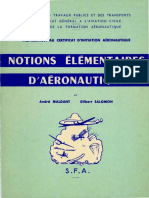 Notions Elementaires D-Aeronautique (Maldant-Salomon 1957) BQ
