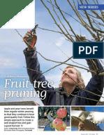 RHS Fruit Tree Pruning
