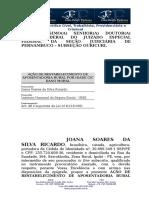 Peticao_inicial_acao de Restabelecimento de Aposentadoria Por Idade - Irene Severina de Oliveira