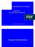 16 OS Security Issues
