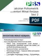 Inventori Minat Kerjaya (Imk)