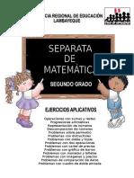 Matematica Ejercicios 2 de Primaria Grupo de Estudio Mentes Brillantes