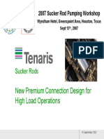 4 Presentation Tenaris Premium Connection Design Sucker Rod