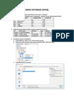 Akses Database Mysql