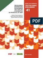 A Cor ou Raça nas Estatísticas Educacionais - uma análise dos instrumentos de pesquisa do Inep.pdf