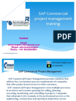 SAP Commercial Project Management
