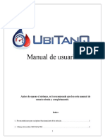 Manual de Usuario UBITANQ PRO Ver 2.1