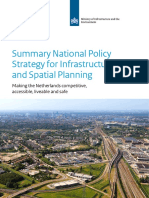 Summary National Policy Strategy for Infrastructure and Spatial Planning