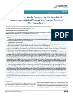 A Prospective Study Comparing the Results Of