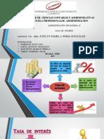 Tasa de Interes Diapositivas Tarea