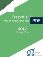 SNE Rapport Social de Branche de l'édition 2017