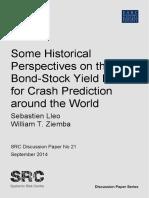 Bond stock yield model
