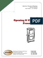 Garlic Jim's Opening Closing Procedures