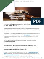 XXIII Exame Da OAB_ Principais Atualizações Legislativas _ Saraiva Aprova